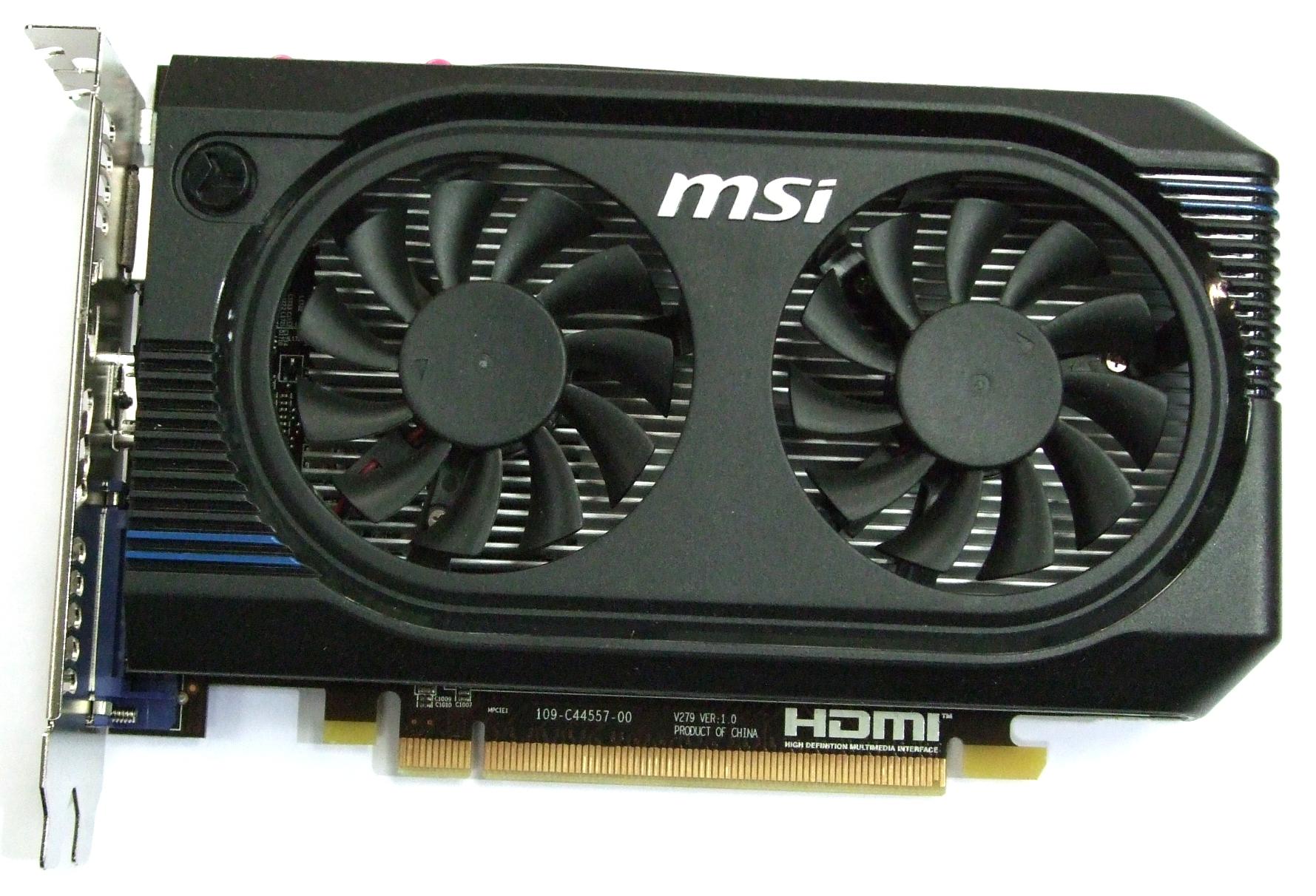 R7750-PMD1GD5/OC MSI Radeon HD7750 OC 1GB GDDR5 PCIe Graphics Card