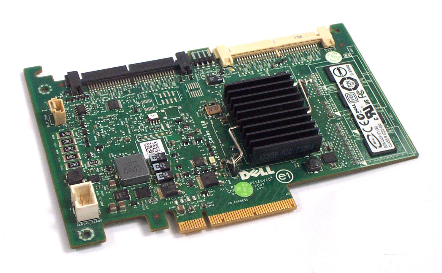 Dell WY335 PowerEdge 1950 2950 PERC/6i SAS RAID Controller