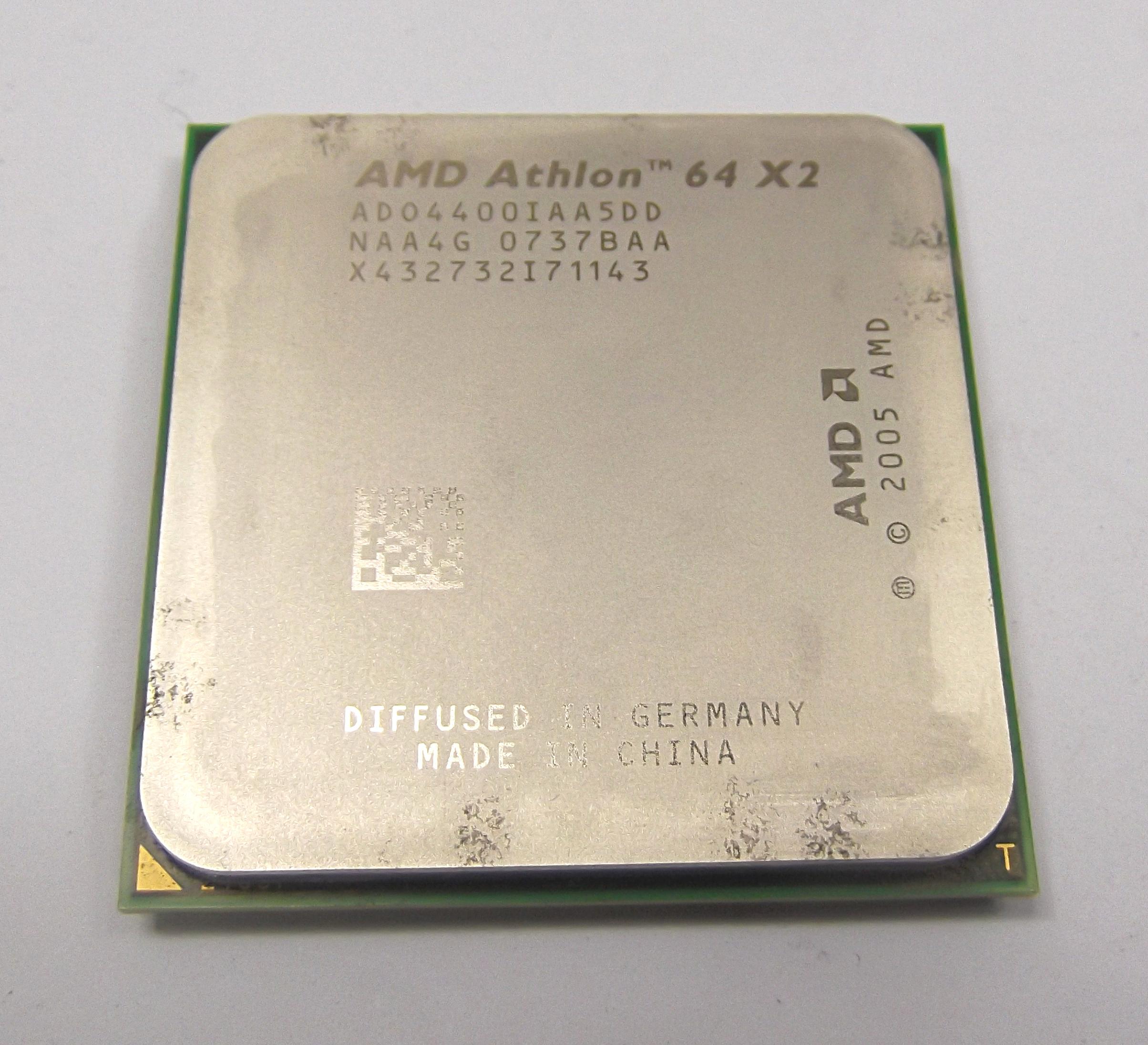 AMD ADO4400IAA5DD Athlon 64 X2 2.3GHz AM2 Brisbane Processor
