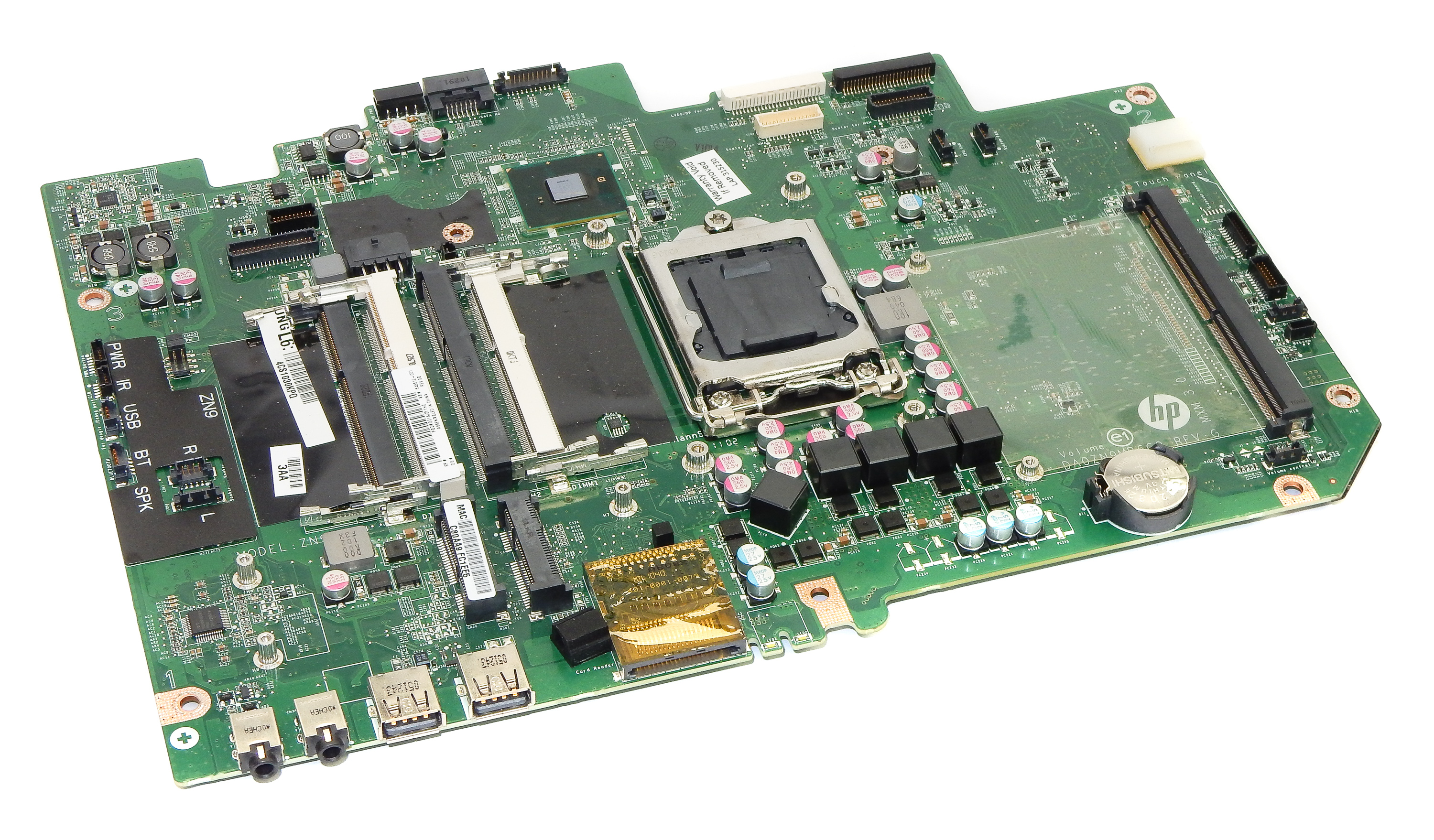 648512-001 HP Touchsmart 610 Intel System Motherboard