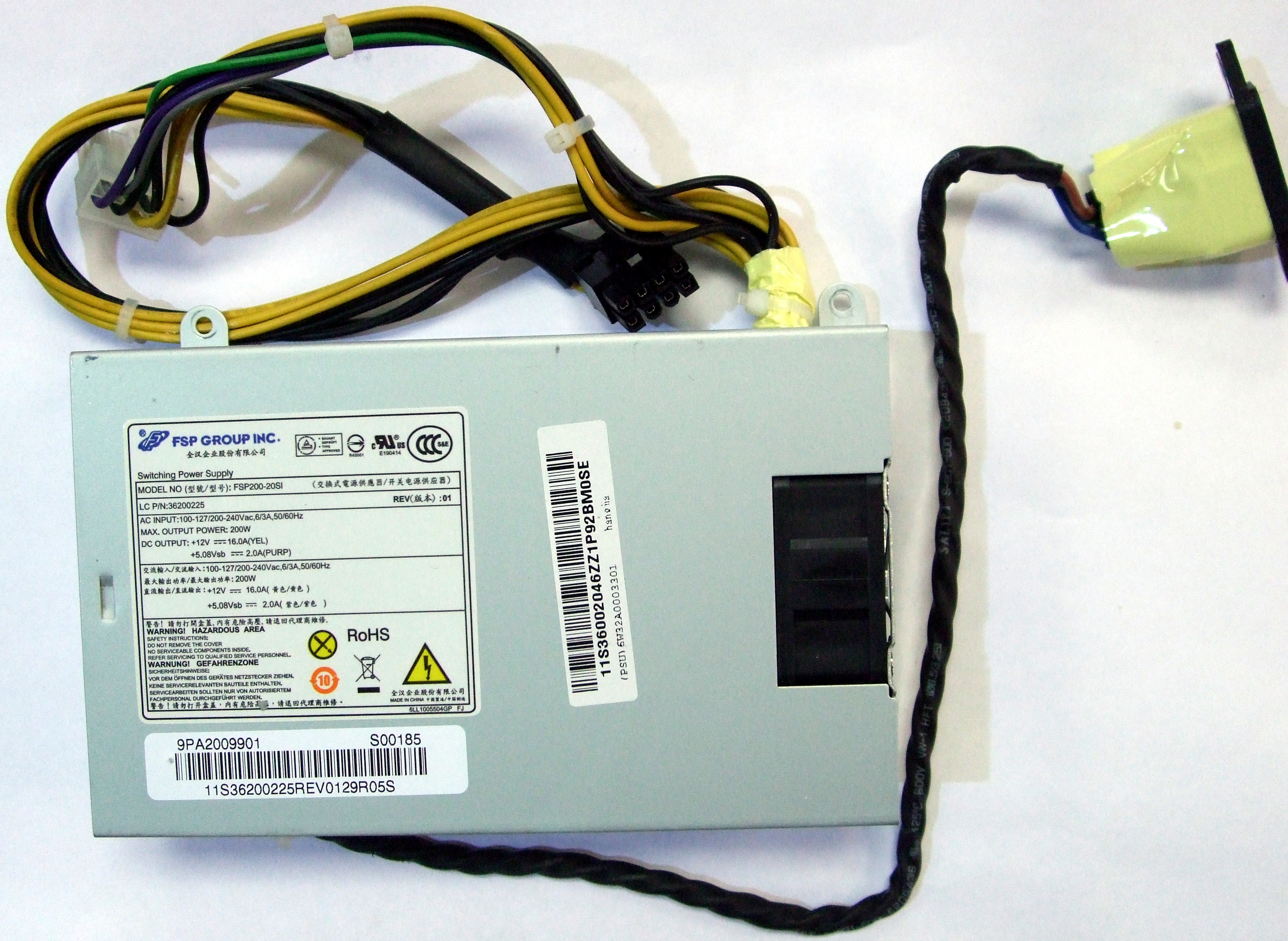 FSP200-20SI FSP 200W Switching Power Supply - Lenovo IdeaCentre B540 9PA2009901