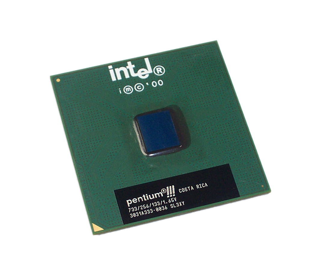 Intel SL3XY Pentium 3 733MHz 133MHz 256KB Socket 370 Processor