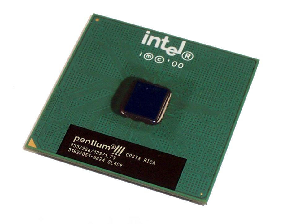 Intel SL4C9 Pentium 3 933MHz Socket 370 Processor 933/256/133/1.7V Coppermine