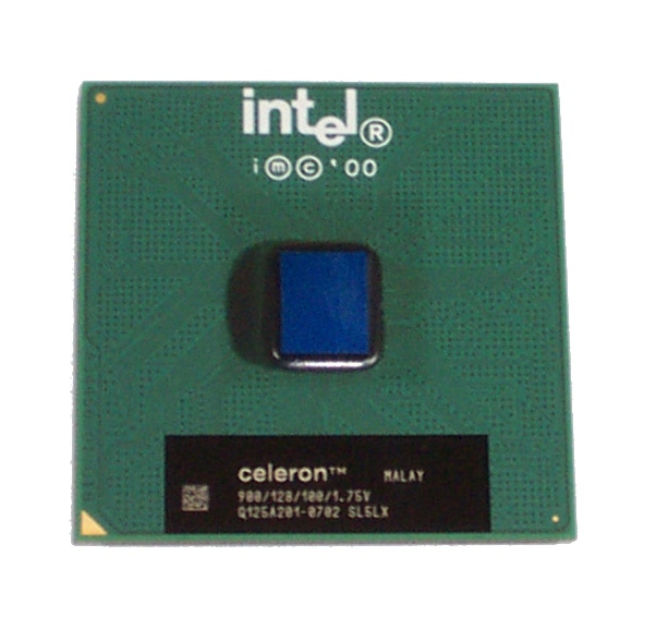 Intel SL5LX Celeron 900 MHz 128K Cache 100 MHz FSB Socket 370 Processor