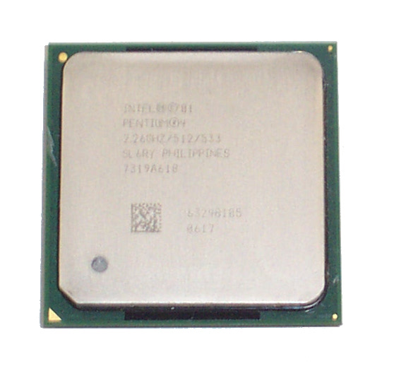 Intel SL6RY Pentium 4 2.26GHz 533MHz 512KB Socket 478 Processor