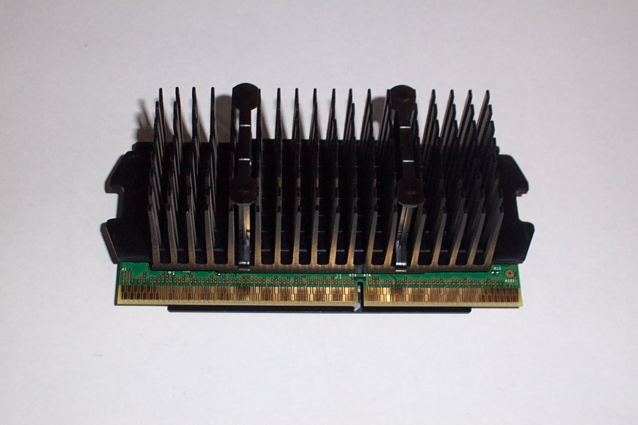 Intel SL35E Pentium 3 500MHz CPU with HP Vectra/Brio Heat Sink