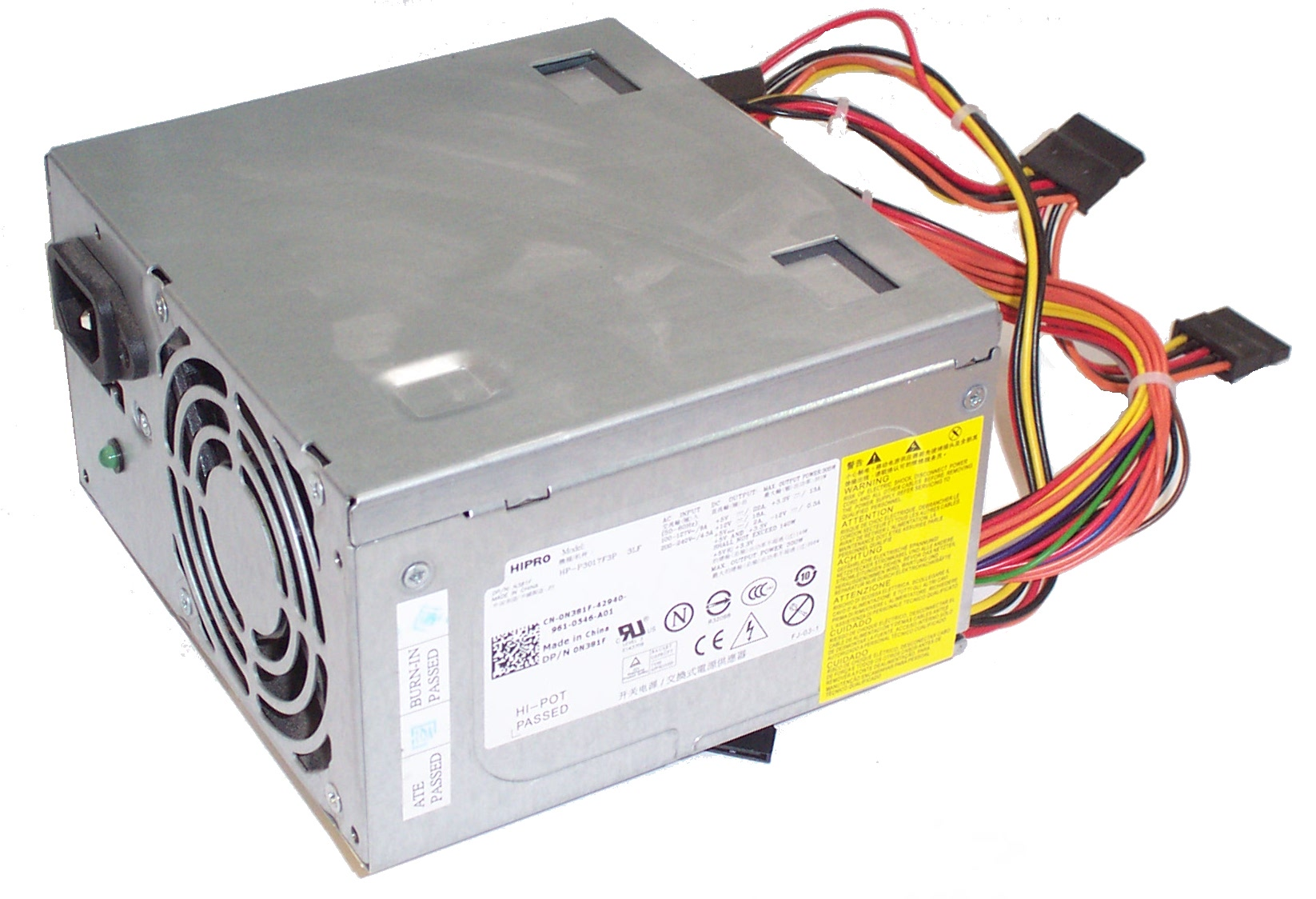 Dell N381F HP-P3017F3P 305W 24-Pin ATX Power Supply
