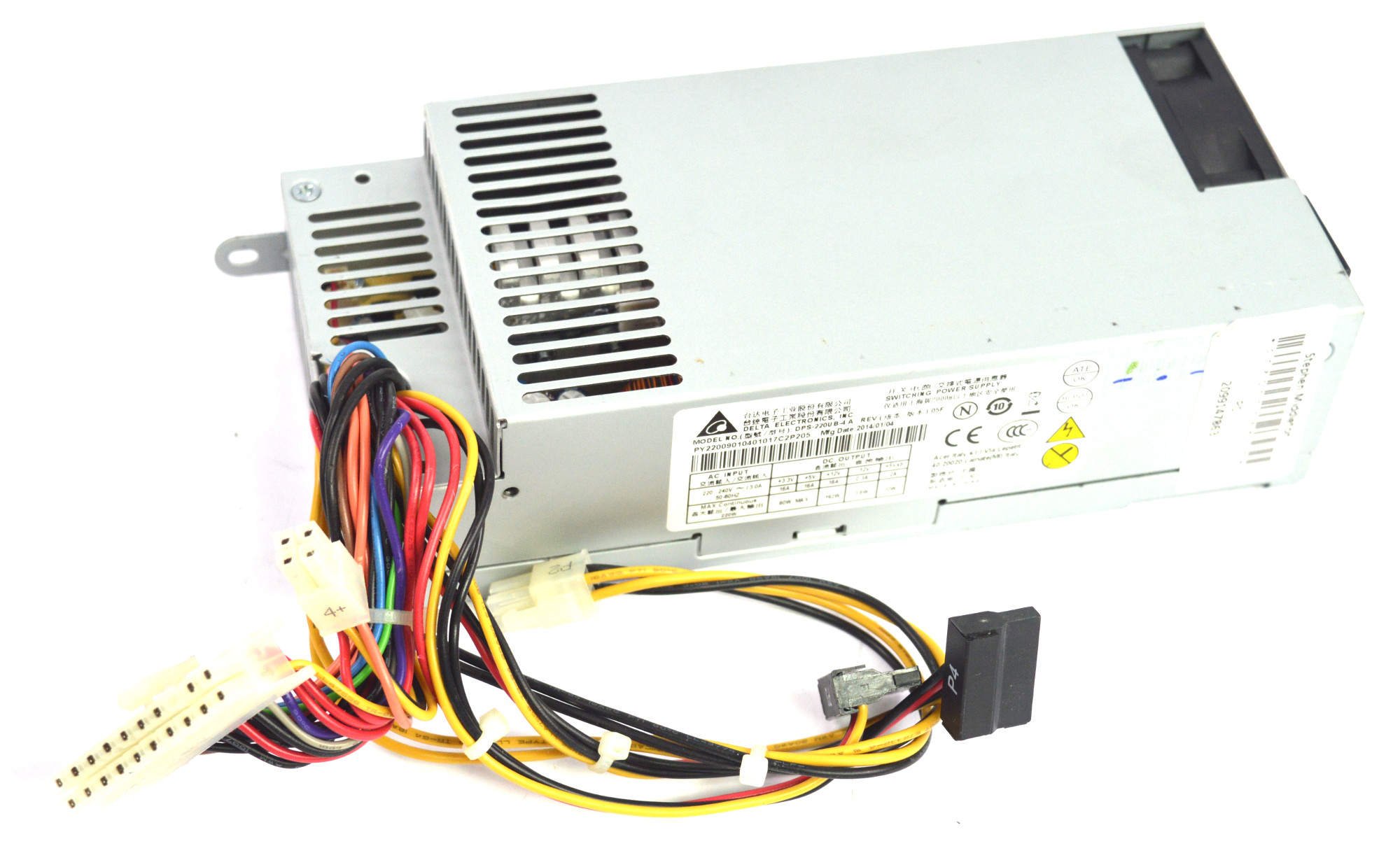 Delta Dps 220ub 4 A 220w Switching Power Supply Supplies