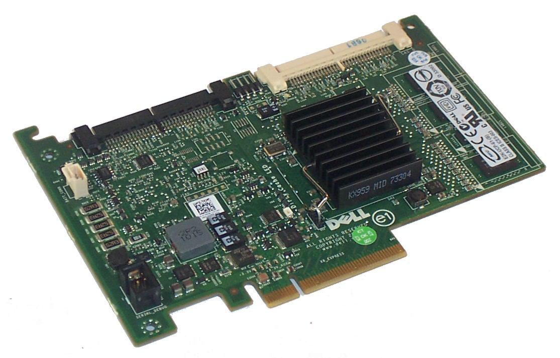 Dell T954J PERC6/i PCIe SAS RAID Controller Card For PowerEdge R610 R710  Server