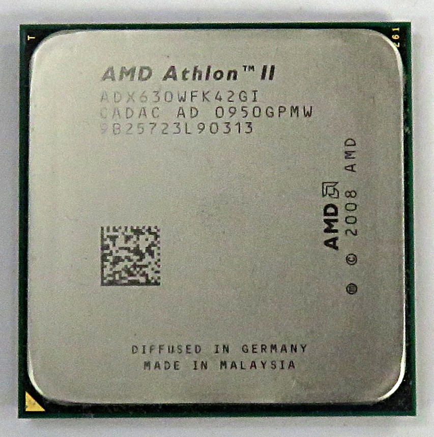 AMD Athlon II X4 630 DeskTop CPU Socket AM3 938 ADX630WFK42GI 2.8Ghz