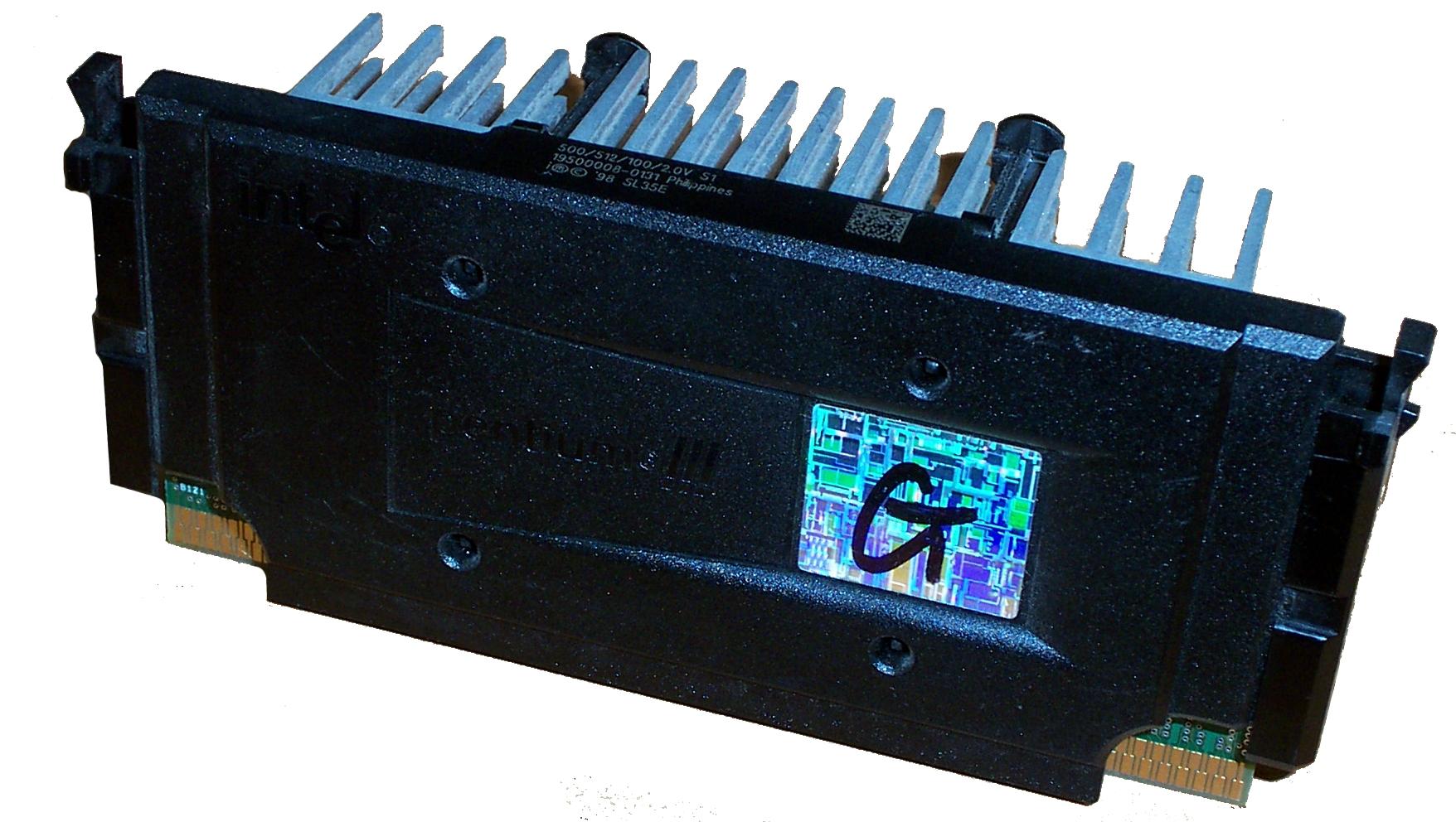 Intel SL35E Pentium 3 500Mhz /512KB/100MHz Slot 1 Processor with Heatsink