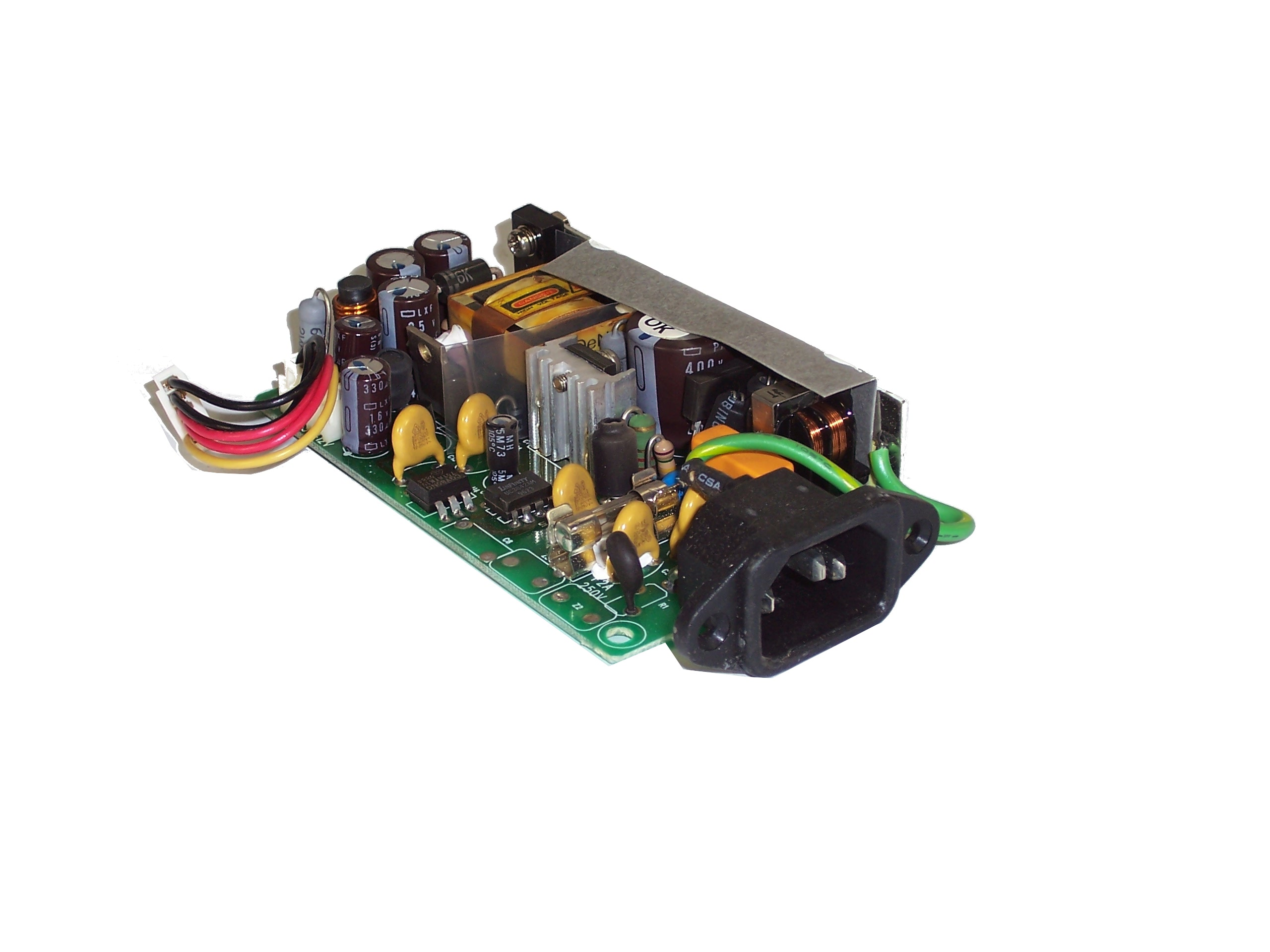 Be-Well ZA1024 +5V/8A +12V/0 6A Power Supply For D-Link DE-809TAC Ethernet  Hub