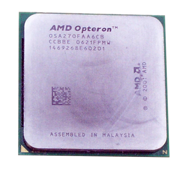 AMD OSA270FAA6CB Dual-Core Opteron 270 2.0GHz Socket 940 Processor