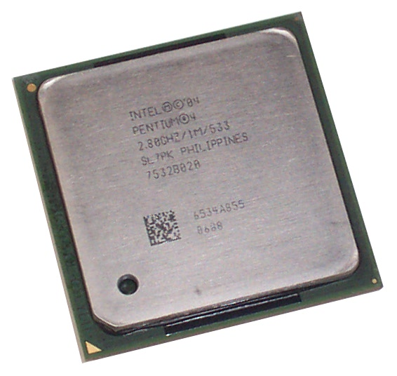 Intel SL7PK Pentium 4 2.8GHz 533MHz 1MB Socket 478 Processor