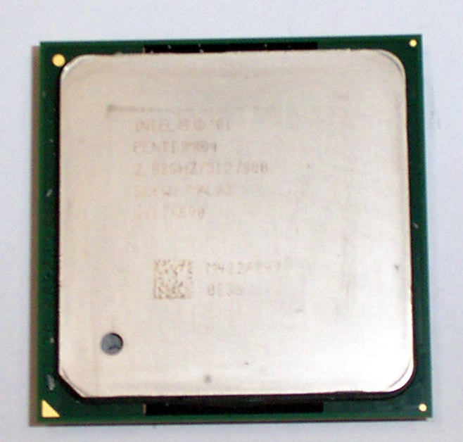 Intel SL6WJ Pentium 4 2.8GHz 800MHz 512KB Socket 478 Processor