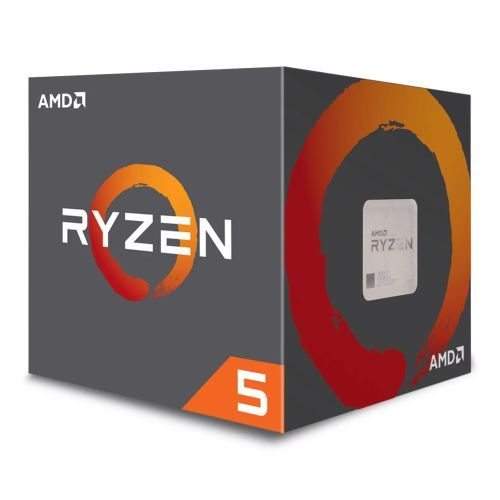AMD Ryzen 5 1600 CPU with Wraith Cooler, AM4, 3.2GHz (3.6 Turbo), 6-Core, 65W, 19MB Cache, 14nm, No Graphics, Summit Ridge
