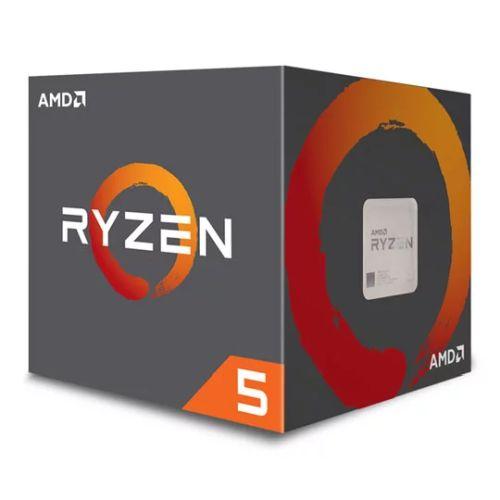 AMD Ryzen 5 2600X CPU with Wraith Cooler, AM4, 3.6 GHz (4.2 Turbo), 6-Core, 95W, 19MB Cache, 12nm, 2nd Gen, No Graphics, Pinnacle Ridge
