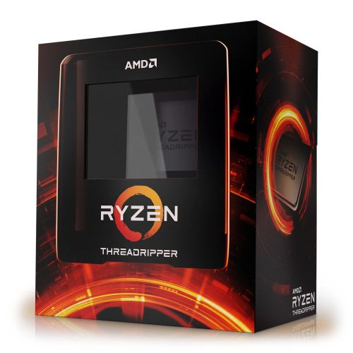 AMD Ryzen Threadripper 3970X, TRX4, 3.7GHz (4.5 Turbo), 32-Core, 280W, 128MB Cache, 7nm, 3rd Gen, No Graphics, NO HEATSINK/FAN