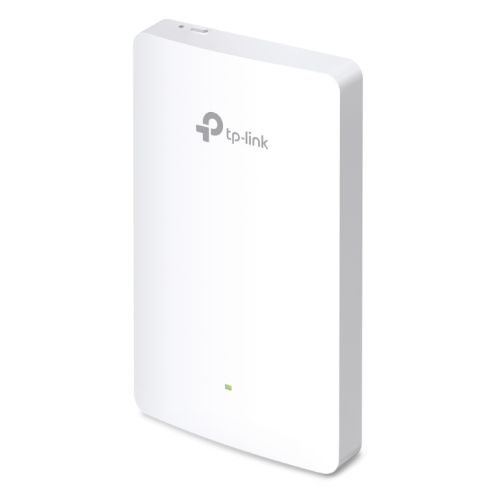 TP-LINK (EAP225-WALL) Omada AC1200 Wireless Wall Mount Access Point, Dual Band, POE, 10/100, MU-MIMO, Free Software