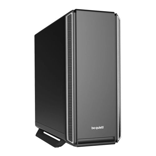 Be Quiet! Silent Base 801 Gaming Case, E-ATX, No PSU, 3 x Pure Wings 2 Fans, PSU Shroud, Silver Trim