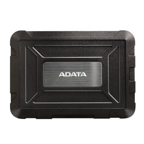 "ADATA ED600 2.5"" SATA Hard Drive Caddy, USB 3.2 Gen1, USB Powered, IP54 Water, Dust & Shock Proof"