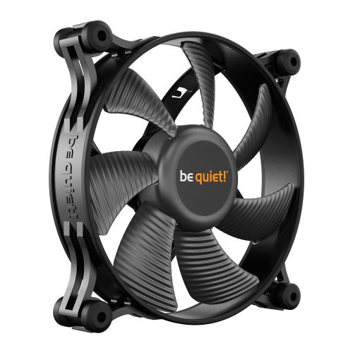 Be Quiet! (BL084) Shadow Wings 2 12cm Case Fan, Rifle Bearing, Black, Whisper Qu
