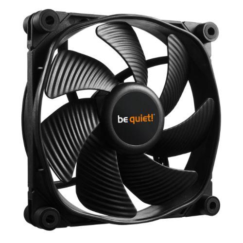 Be Quiet (BL066) Silent Wings 3 PWM Case Fan, 12cm, Black, Fluid Dynamic Bearing