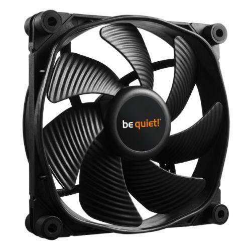 Be Quiet (BL070) Silent Wings 3 PWM High Speed Case Fan, 12cm, Black, Fluid Dyna