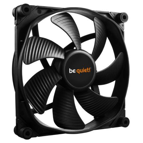 Be Quiet! (BL069) Silent Wings 3 14cm High Speed Case Fan, Black, Fluid Dynamic Bearing