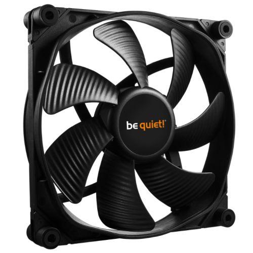 Be Quiet (BL067) Silent Wings 3 PWM Case Fan, 14cm, Black, Fluid Dynamic Bearing