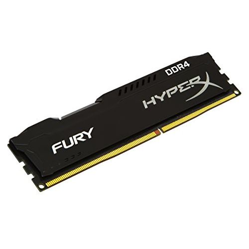 HyperX Fury Black 16GB, DDR4, 2400MHz (PC4-19200), CL15, 1.2V, XMP 2.0, DIMM Memory