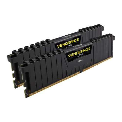 Corsair Vengeance LPX 16GB Kit (2 x 8GB), DDR4, 3200MHz (PC4-25600), CL16, XMP 2.0, Ryzen Optimised, DIMM Memory