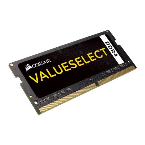 Corsair Value Select, 8GB, DDR4, 2133MHz (PC4-17000), CL15, SODIMM Memory