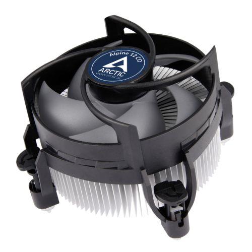 Arctic Alpine 12 Compact Heatsink & Fan for Continuous Operation, Intel 115x Sockets, Dual Ball Bearing, 6 Year Warranty