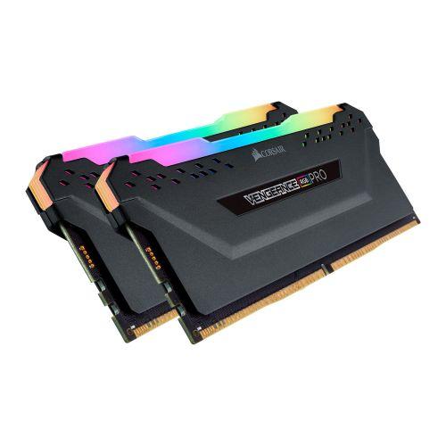 Corsair Vengeance RGB PRO Light Enhancement Kit - 2 x Dummy DDR4 Memory Modules with Addressable RGB LEDs, Black