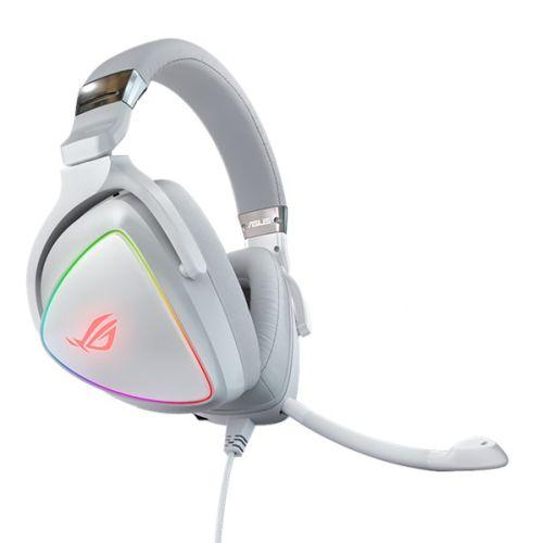 Asus ROG DELTA RGB Gaming Headset, USB-C (USB2 Adapter), Hi-Fi ESS Quad-DAC, Boo