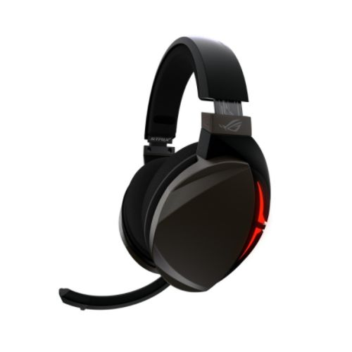 Asus ROG STRIX Fusion 300 7.1 Gaming Headset, 50mm Drivers, 7.1 Surround Sound, Boom Mic, Black & Red