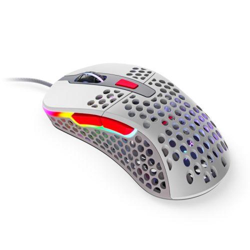 Xtrfy M4 RGB Wired Optical Gaming Mouse, USB, 400-16000 DPI, Omron Switches, 125-1000 Hz, Adjustable RGB, Retro