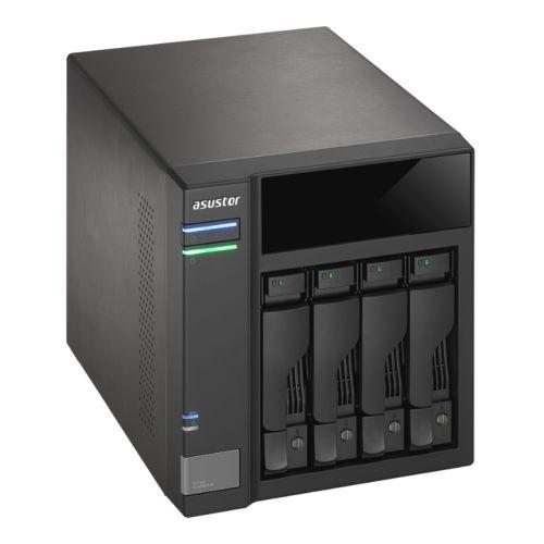 ASUSTOR AS6004U 4-Bay NAS Storage Capacity Expander, USB 3.0, Power Sync, Hot Swap, RAID, AES 256-bit Encryption