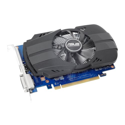 Asus Phoenix GT1030 OC, 2GB DDR5, PCIe3, DVI, HDMI, 1531MHz Clock, Compact Design, Overclocked