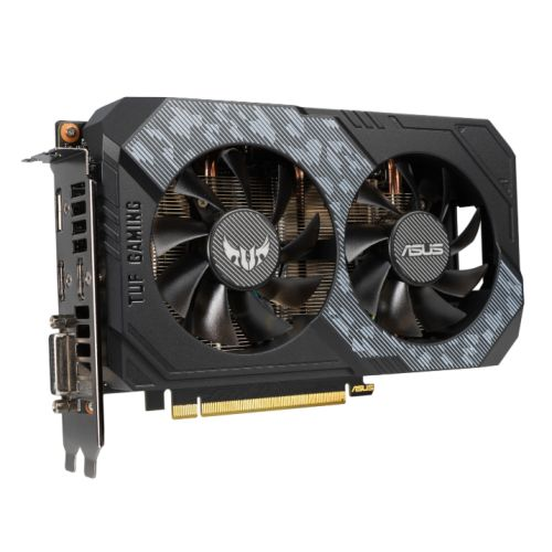 Asus TUF GAMING RTX2060 OC, 6GB DDR6, DVI, 2 HDMI, DP, 1740MHz Clock, Overclocked