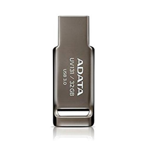 ADATA 32GB USB 3.0 Memory Pen, Capless, Chromium Grey