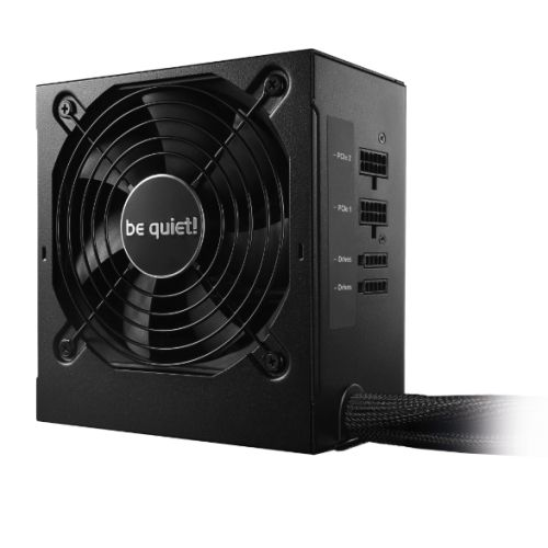 Be Quiet! 500W System Power 9 CM PSU, Semi-Modular, Sleeve Bearing, 80+ Bronze, Dual 12V, Cont. Power