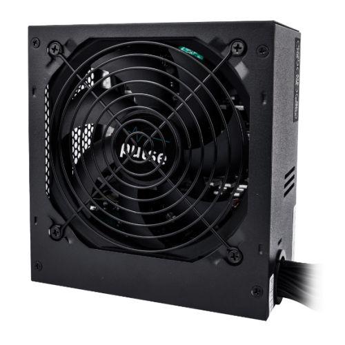 Pulse Power Plus 500W PSU, ATX 12V, 80PLUS Bronze & ErP, 4 x SATA, PCIe, Fluid Dynamic Fan