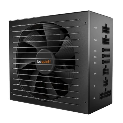 Be Quiet! 550W Straight Power 11 PSU, Fully Modular, Fluid Dynamic Fan, Quad Rai