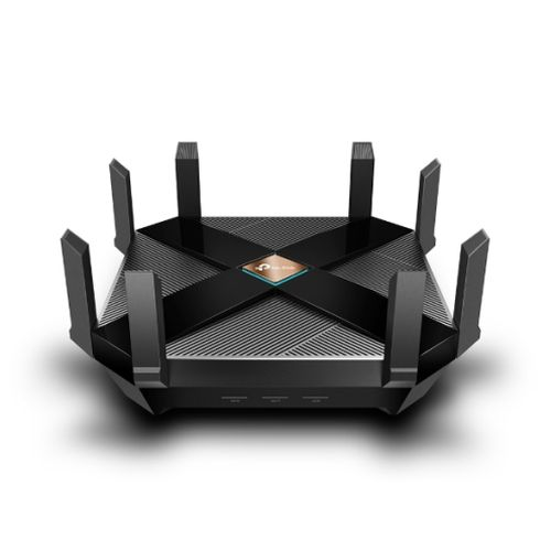 TP-LINK (Archer AX6000) AX6000 (1148 + 4804Mbps) Wireless Dual Band Router, OFDMA, 8-Port, 2.5Gbps WAN, MU-MIMO, USB 3.0 A&C