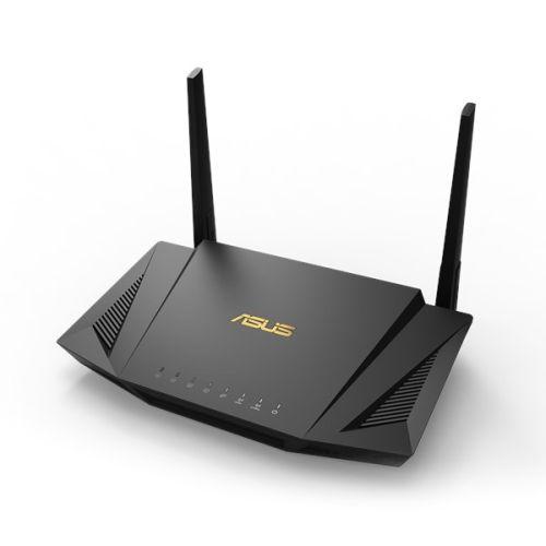 Asus (RT-AX56U) AX1800 (1201+574Mbps) Wireless Dual Band Router, MU-MIMO & OFDMA, 802.11ax, AiMesh Compatible
