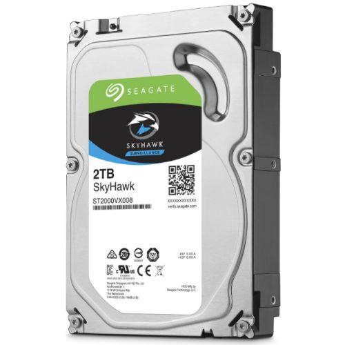 """Seagate 3.5"""", 2TB, SATA3, SkyHawk Surveillance Hard Drive, 64MB Cache, 24/7"""