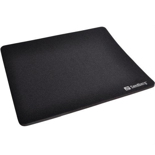 Sandberg (520-05) Mouse Pad, Black, 260 x 220 x 0.60 mm, 5 Year Warranty