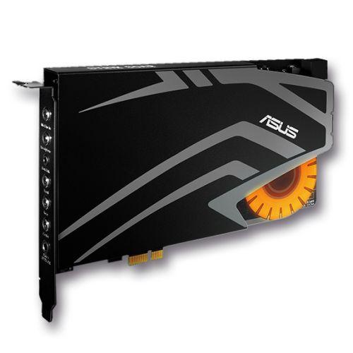 Asus STRIX SOAR Gaming Soundcard, PCIe, 7.1, Audiophile-Grade DAC, 116dB SNR, 600ohm Headphone Amplifier